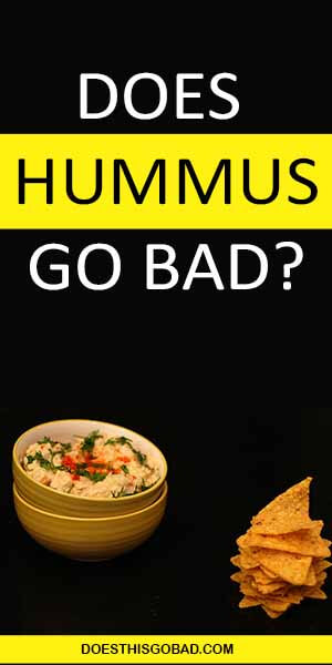 Can I eat expired hummus