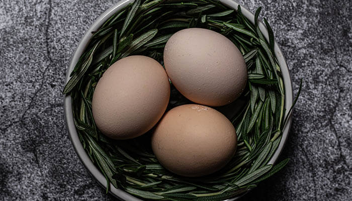 What is the green ring on a hard-boiled Egg