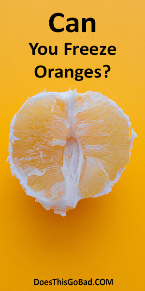 what to do with frozen oranges